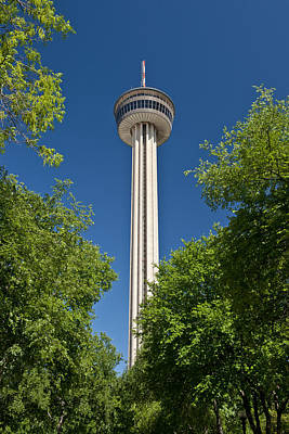 Tower Of The Americas Print by Tom Dowd