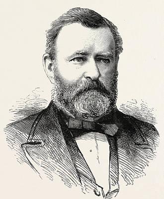 Ulysses S Grant Print by American School