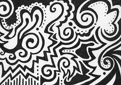 Sharpie Drawing - Untitled by Mandy Shupp