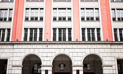 Brick Building Photograph - Urban Building   by Tom Gowanlock