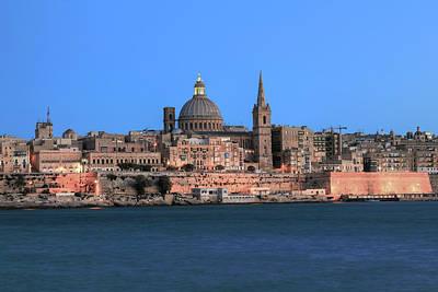 Malta Photograph - Valletta - Malta by Joana Kruse