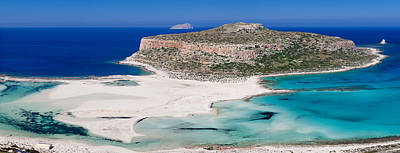 View Of The Balos Beach, Gramvousa Print by Panoramic Images