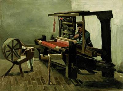 Portrait Painting - Weaver by Vincent van Gogh