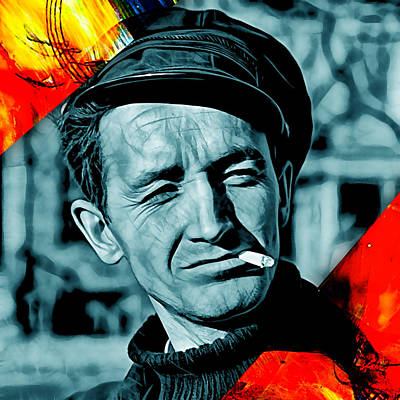 Woody Guthrie Mixed Media - Woody Guthrie Collection by Marvin Blaine