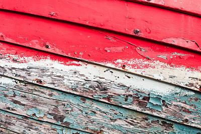 Scruffy Photograph - Weathered Wood by Tom Gowanlock