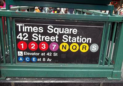 42 Street Station Nyc Print by Brianna Thompson