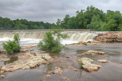 Missouri Photograph - Grand Falls by Michael Munster