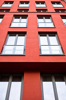 Brick Building Photograph - Modern Building by Tom Gowanlock