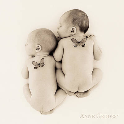 Butterfly Photograph - Untitled by Anne Geddes