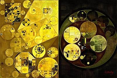 Fanciful Digital Art - Abstract Painting - Onyx by Vitaliy Gladkiy