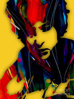 Bob Mixed Media - Bob Dylan Collection by Marvin Blaine