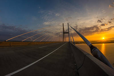486 Feet Sunrise Print by Chris Bordeleau