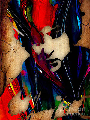 Musical Mixed Media - Bob Dylan Collection by Marvin Blaine