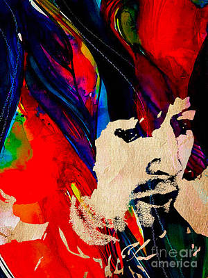 Cream Mixed Media - Eric Clapton Collection by Marvin Blaine