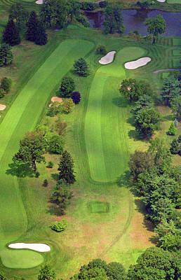 4th Hole Sunnybrook Golf Club 398 Stenton Avenue Plymouth Meeting Pa 19462 1243 Print by Duncan Pearson