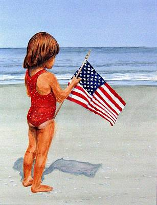 4th Of July Print by Haldy Gifford
