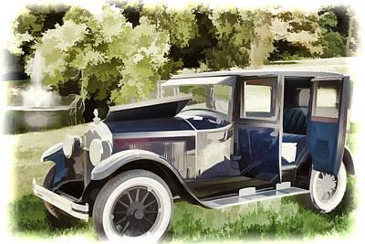 1924 Buick Duchess Antique Vintage Photograph Fine Art Prints 106 Print by M K  Miller