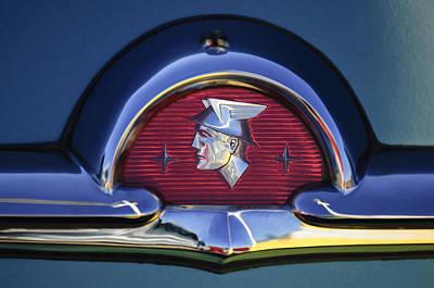 1953 Photograph - 1953 Mercury Monterey Emblem by Jill Reger