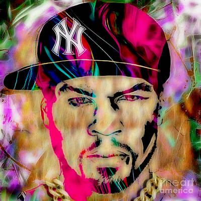 50 Cent Collection Print by Marvin Blaine
