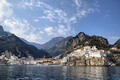 Amalfi - Amalfi Coast Print by Joana Kruse