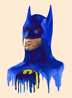 Superman Digital Art - Batman Begins Print by Egor Vysockiy