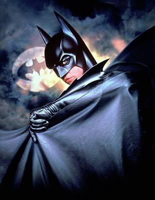Horror Digital Art - Batman Forever 1995 by Caio Caldas