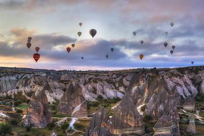 Cappadocia Photograph - Cappadocia - Turkey by Joana Kruse