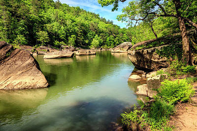 Summer Photograph - Cumberland River by Alexey Stiop
