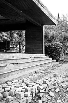 Junk Photograph - Derelict Building by Tom Gowanlock