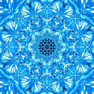 Healing Digital Art - fair mandala-3D effect by Sandrine Kespi