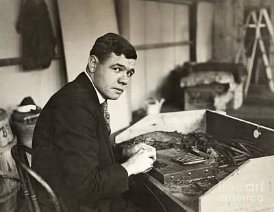 George H. Ruth (1895-1948) Print by Granger