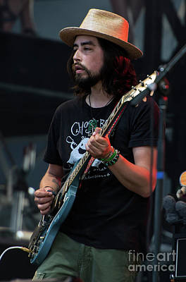 Black Crowes Photograph - Jackie Greene With The Black Crowes by David Oppenheimer