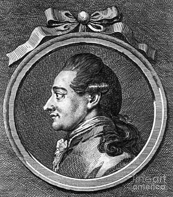 Johann Wolfgang Von Goethe, German Print by Science Source