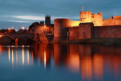King John's Castle Limerick Ireland Print by Pierre Leclerc Photography