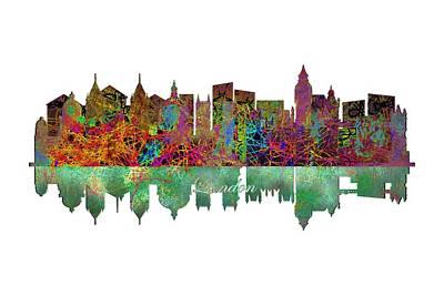 Big Ben Painting - London England Skyline by John Groves