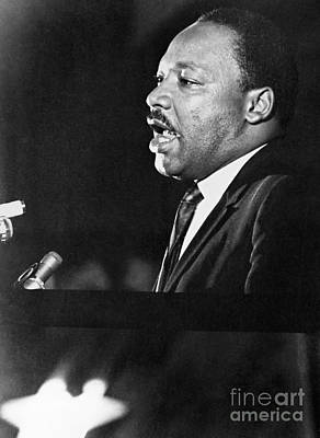 Martin Luther King, Jr Print by Granger