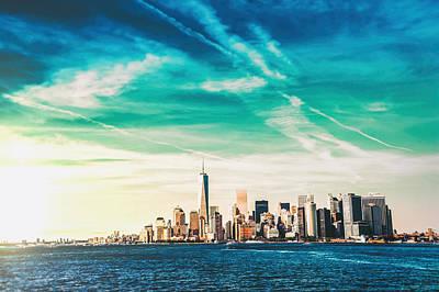 Wtc Photograph - New York City Skyline by Vivienne Gucwa