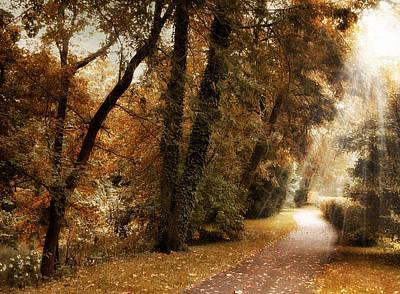October Trail Print by Jessica Jenney
