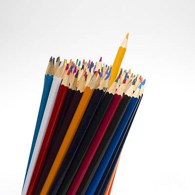 Repetition Photograph - Pencils by Bernard Jaubert