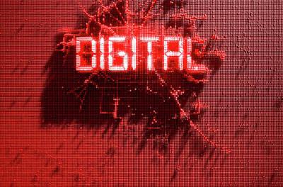 Microscopic Digital Art - Pixel Digital Concept by Allan Swart