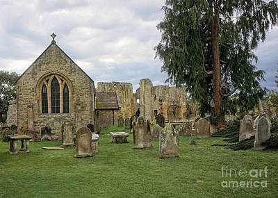 Abbey Photograph - St Agathas by Stephen Smith