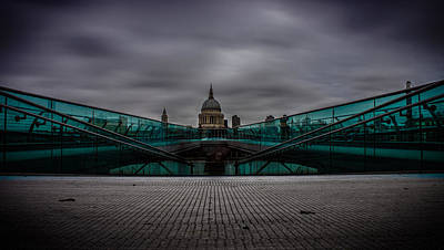 St Pauls Cathedral Photograph - St Pauls Cathedral by Martin Newman