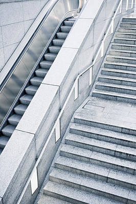 Stairs Print by Tom Gowanlock