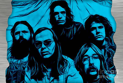 Steely Dan Collection Print by Marvin Blaine