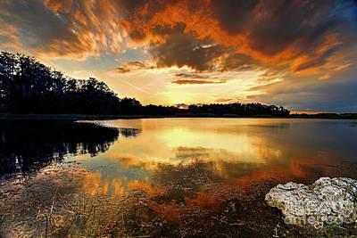 Photograph - Sunset Clouds  by Rick Mann