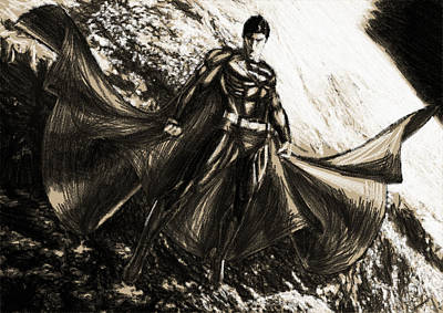 Superman Digital Art - Superman Art by Egor Vysockiy