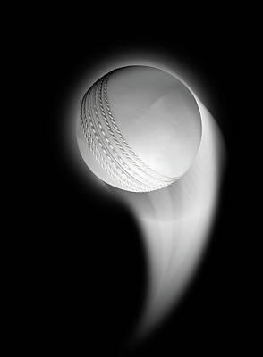Cricket Digital Art - Swooshing Ball by Allan Swart