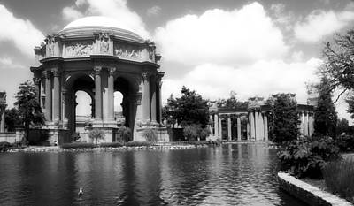 The Beautiful Palace Of Fine Arts - San Francisco Print by Mountain Dreams