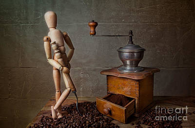 Doll Photograph - Working The Mill by Nailia Schwarz