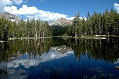 Bike Photograph - Yosemite Reflections by LeeAnn McLaneGoetz McLaneGoetzStudioLLCcom